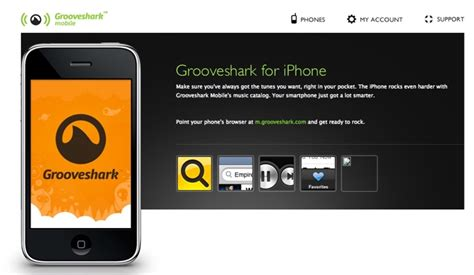 Grooveshark Mobile Free by 3 Free Apps For Iphone Grunix