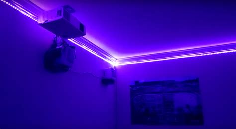 Led Lights I Room a thousand led lights for your room hackaday