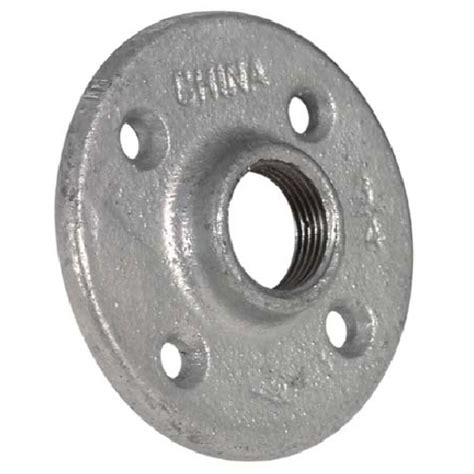 1 Galvanized Floor Flange by Galvanized Floor Flange Rona