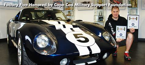 Factory Five Honored By Cape Cod Military Support