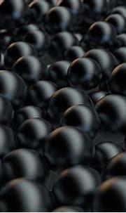 Black Pearl Background Digital Art by Allan Swart