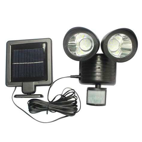 motion light with alarm solar powered led motion detector security light