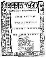 Spy Secret Coloring Theatre Code Printable Word Sheets Codes Pages Activities Searches Dinner Words Print Toronto Puzzle Party Colouring Sketch sketch template