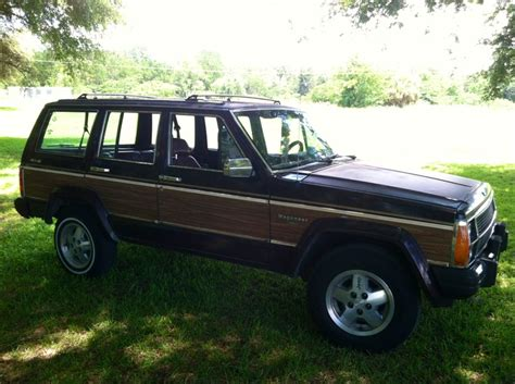 jeep wagoneer 1990 1990 jeep wagoneer limited things i like pinterest