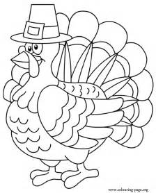 thanksgiving a thanksgiving turkey coloring page