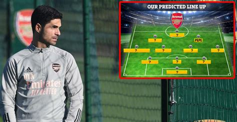 Arsenal predicted lineup vs Molde, total changes — Arsenal ...