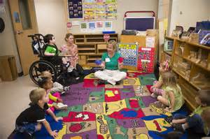 Preschool Classroom Children
