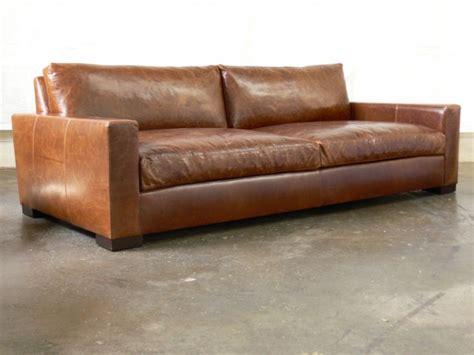 brompton leather sofa 96 braxton cushion leather sofa in brompton vintage 1813