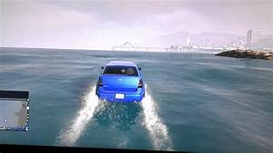 Gta V  How To Drive Cars On Water