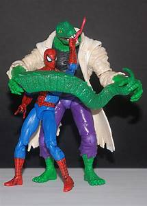 "Come, See Toys: Spider-man line 4"" Lizard"
