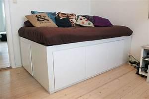 Hochbett Mit Zwei Betten : hochbett selber bauen mit schrank ~ Whattoseeinmadrid.com Haus und Dekorationen