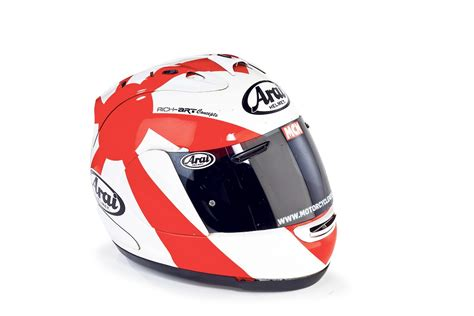 arai rx 7 gp quot it kept me safe when i highsided quot mcn