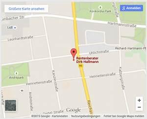 Laufstrecke Berechnen Google Maps : rentenberater hallmann chemnitz kontakt anfahrt ~ Themetempest.com Abrechnung