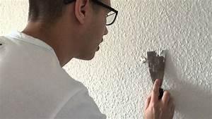 Löcher Wand Füllen : l cher in der wand verspachteln so geht 39 s youtube ~ Sanjose-hotels-ca.com Haus und Dekorationen