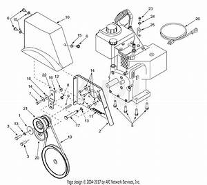 Mtd 31ae993j401  2003  Parts Diagram For Belt Drive Assembly