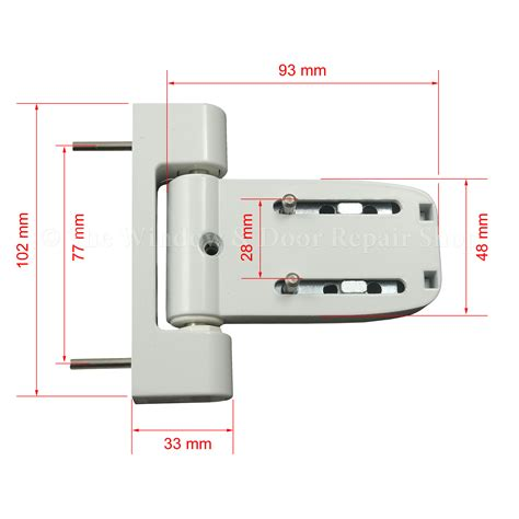 white paddock neon   flag door hinge  yale  window door repair shop