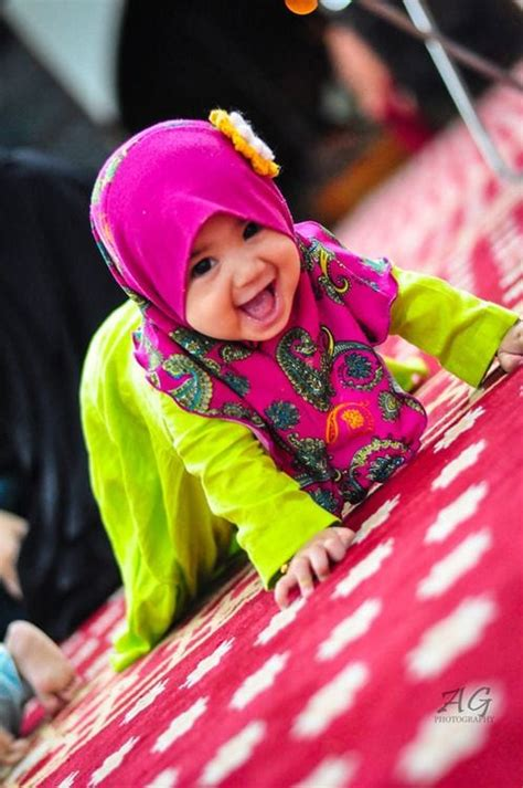 cute pictures  baby girls  hijab  melt  heart