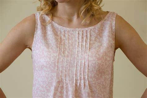 add pin tucks   garments   sew