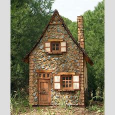 Stone Cottage  Art * Fairy * World * Scene * Art Haus