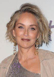 """Sharon Stone Hairstyles – 23 """"A""""-List Looks ..."""