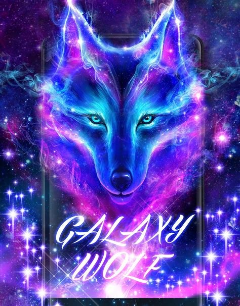 night sky wolf  wallpaper  android apk