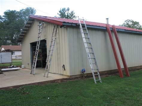 Installing Building Trim On Gable Overhang