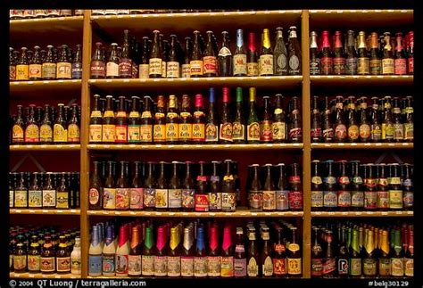 picturephoto beer bottles bruges belgium