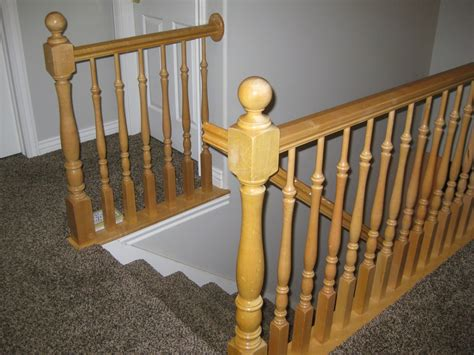 What Does Banister by Remodelaholic Stair Banister Renovation Using Existing