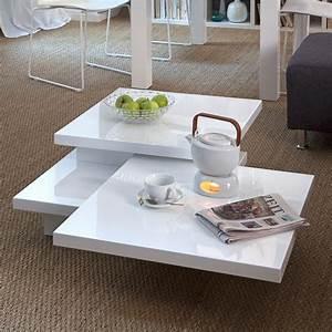 Couchtisch Weiß Hochglanz Rund : stylische wohnzimmer tische ~ Bigdaddyawards.com Haus und Dekorationen