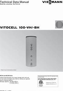 Vitocell 100 Notice