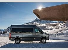 MercedesBenz Sprinter 4x4 is on Its Way to The United
