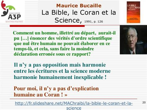 le coran et la science moderne maurice bucaille qelques verites scientifiques du coran topic unique sciences et religions page 75