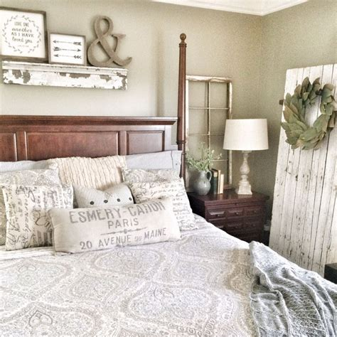 rustic farmhouse bedroom decorating ideas  transform