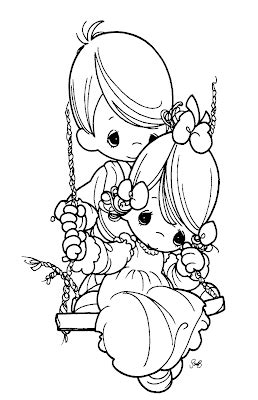 precious moments  love coloring pages disney