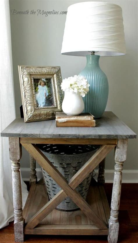 Decorating Ideas For Living Room End Tables by 25 Best Ideas About Side Table Decor On Side