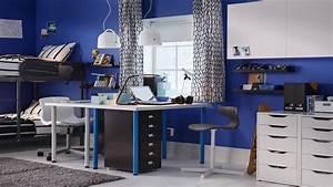Bureau Garcon Ikea : mon bureau dans la chambre ~ Teatrodelosmanantiales.com Idées de Décoration