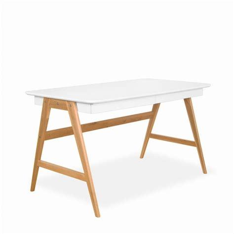 bureau bois et blanc bureau design bois et blanc mzaol com