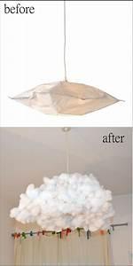Abat Jour Nuage : lampe nuage diy bidouilles ikea ~ Teatrodelosmanantiales.com Idées de Décoration