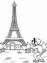 Eiffel Tower Coloring Paris Pages Printable Drawing Printables France Mandala French Cool2bkids Wonders Activities Adults Monuments Books Worksheets Towers sketch template