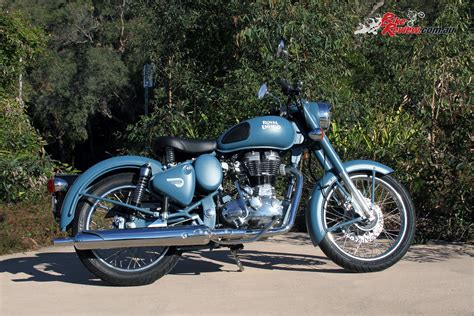Review Royal Enfield Classic 500 by Review 2016 Royal Enfield Classic Squadron Blue Bike Review