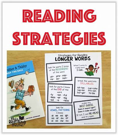 Reading Strategies Printables Mama Teaching Resources Want