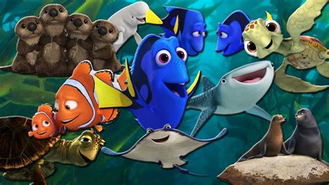 Which Finding Dory Character Are You?