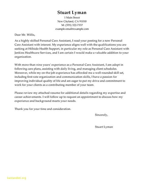 cover letter  human resources assistant  experience