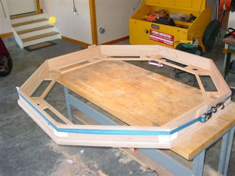 octagon game table plans 22 best images about poker table plan 39 s on pinterest
