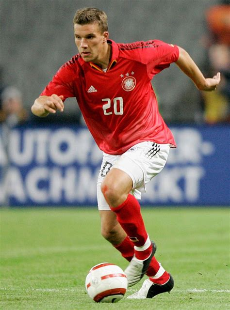 Football statistics of lukas podolski including club and national team history. Lukas Podolski of Germany in action during the friendly ...