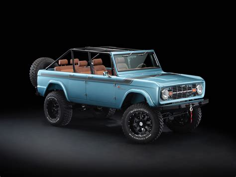 door ford broncos maxlider brothers customs