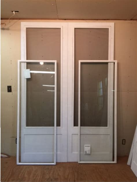 screen door with glass insert jim illingworth millwork llc architectural historical 7872