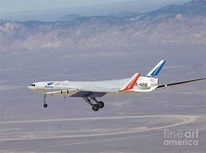 X-48b Blended Wing Body Photograph by Nasa
