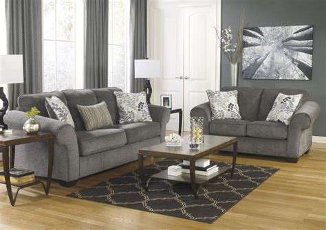 Makonnen Charcoal Sofa Loveseat by Jerusalem Furniture Philadelphia Furniture Store Home