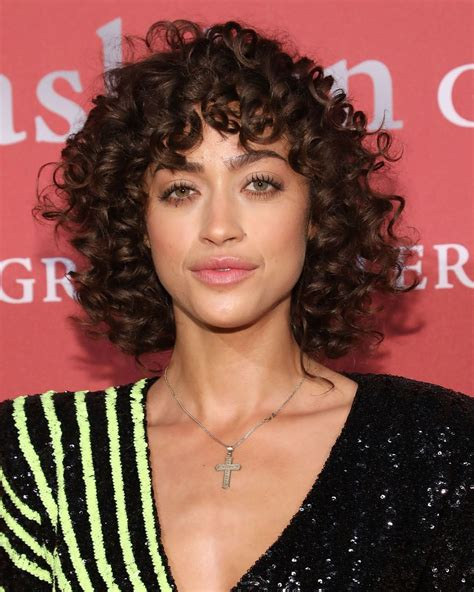 Curly Bangs Are FINALLY Cool How To Get 2019's Hottest